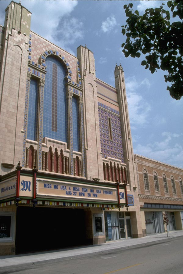 Photo of the Missouri Theater exterior
