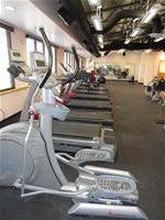 Photo of treadmills in the exercise room