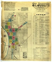 Photo of Sanborn map