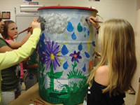 Rain Barrel Art Contest